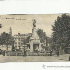Postales: BARCELONA, PLAZA DE PALACIO.. Lote 37090631