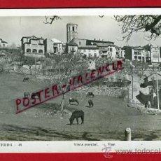 Postales: POSTAL PUIGCERDA, GERONA, VISTA PARCIAL, P76652. Lote 37122806