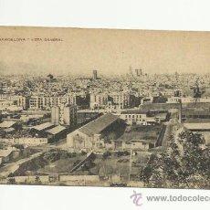 Postales: POSTAL DE BARCELONA, VISTA GENERAL.. Lote 37124367