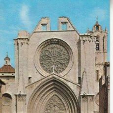 Postales: ,POSTAL CATEDRALES DE ESPAÑA TARRAGONA, PUBLICIDAD LABORATORIOS CHEMINOVA ESPAÑOLA S. L.. Lote 37189902