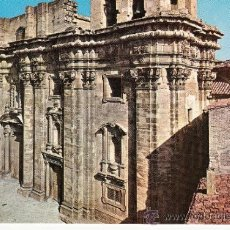 Postales: ,POSTAL CATEDRALES DE ESPAÑA TORTOSA (TARRAGONA), PUBLICIDAD LABORATORIOS CHEMINOVA ESPAÑOLA S. L.. Lote 37208935