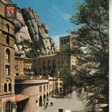 Postales: ,POSTAL COMERCIAL ESCUDO DE ORO 4986, MONTSERRAT (BARCELONA), MONASTERIO, DETALLE, ESCRITA. Lote 37318972