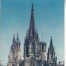 Postales: ,POSTAL A. ZERKOWITZ 20 BARCELONA, CATEDRAL, ESCRITA. Lote 37319385