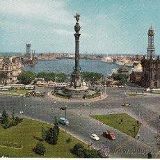 Postales: ,POSTAL COMERCIAL ESCUDO DE ORO 2019, BARCELONA, PUERTO, MONUMENTO A CRISTOBAL COLON, ESCRITA . Lote 37328843