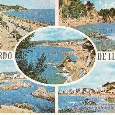 Postales: ,POSTAL EDICIONES RO-FOTO 502, LLORET DE MAR (GERONA), VISTAS VARIAS, ESCRITA. Lote 37435644