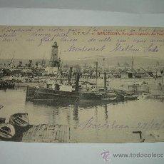Postales: ANTIGUA POSTAL........ BARCELONA.......CAPITANIA DEL PUERTO.. Lote 37394887