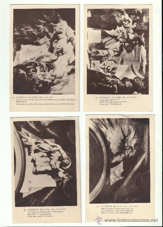 CATEDRAL DE VICH -(DEC.J.M.SERVET) (Postales - España - Cataluña Antigua (hasta 1939))