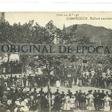 Postales: (PS-34619)POSTAL FOTOGRAFICA DE CAMPRODON-BALLANT SARDANES. Lote 37491325