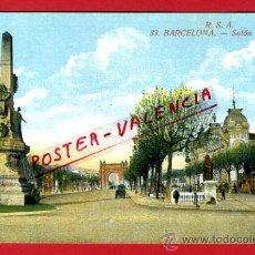 Postales: POSTAL BARCELONA, SALON DE SAN JUAN, P77798. Lote 37550343