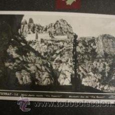 Postales: MONTSERRAT Nº14 MONASTIR DES DE VIA ROSARI. Lote 37603138