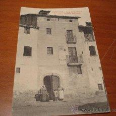 Postales: CURIOSA POSTAL SAMPEDOR. CASA AHONT NASQUE LO CELEBRE TIMBALER DEL BRUCH. Lote 43063072