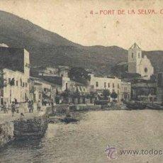 Postales: PORT DE LA SELVA (GERONA).- CARRER DE MAR . Lote 37775988