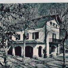 Postales: GIRONA OLOT RESTAURANTE FUENTE MOIXINA. ED. ARQUES. CIRCULADA. Lote 37805914