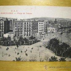 Postales: BARCELONA: PLAZA DE TETUAN. Lote 37930375