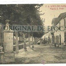 Postales: (PS-35418)POSTAL DE S.GINES DE VILASAR-FUENTE S.PEDRO. Lote 37887339