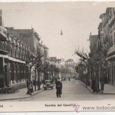 Postales: SABADELL, POSTAL FOTOGRAFICA, RAMBLA DEL CAUDILLO, SIN CIRCULAR. Lote 37924176