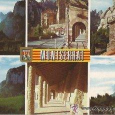 Postales: == A1408 - POSTAL - MONTSERRAT - DIVERSOS ASPECTOS - CIRCULADA. Lote 38060561