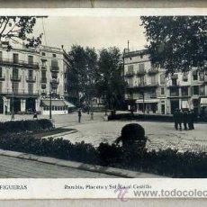 Postales: FIGUERAS RAMBLA - JOAQUÍN SERRA. ESCRITA, SIN CIRCULAR. Lote 38067166