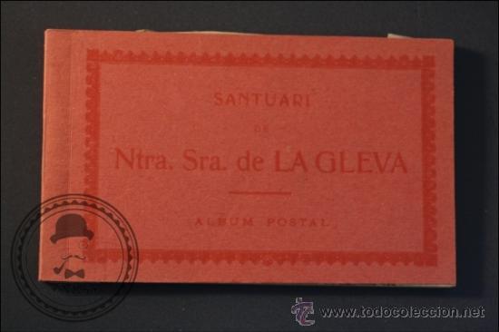 ANTIGUO TACO DE POSTALES SANTUARI DE NTRA. SRA. DE LA GLEVA ATV - PROVINCIA DE BARCELONA (Postales - España - Cataluña Antigua (hasta 1939))