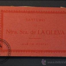 Postales: ANTIGUO TACO DE POSTALES SANTUARI DE NTRA. SRA. DE LA GLEVA ATV - PROVINCIA DE BARCELONA. Lote 38207964