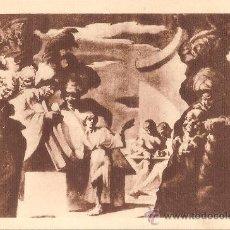 Postales: CATEDRAL DE VICH, J.M. SERT, JESÚS ENTRE ELS DOCTORS - FOTOTIPIA THOMAS Nº 41. Lote 38292647
