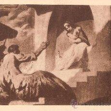 Postales: CATEDRAL DE VICH, J.M. SERT, EL MISTERI DE L'ENCARNACIÓ DEL VEREB - FOTOTIPIA THOMAS Nº 39. Lote 38292675