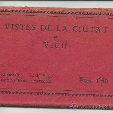 Postales: VICH.-12 POSTALES DECORACION DE LA CATEDRAL.-3ª SERIE.-TIPOGRAFIA BALMESIANA.-HUECOGRABADO MUMBRÚ. Lote 38485489