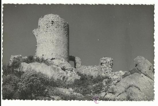 ARGENTONA.-CASTILLO DE BURRIACH.-FOTO GUELL.-FOTOGRAFIA POSTAL (Postales - España - Cataluña Moderna (desde 1940))