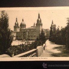 Postales: EXPOSICION INTERNACIONAL BARCELONA 1929. Lote 38526037