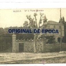 Postales: (PS-35828)POSTAL FOTOGRAFICA DE ALELLA-TORRE LLIMONA.FAMILIA DE JOAQUIM CASAS I CARBO . Lote 38560318