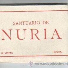 Postkarten - bloc mini acordeón del santuario de nuria - 10 vistas de zerkowitz - 38725499