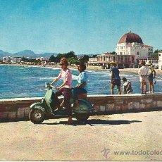 Postales: SALOU.-HOTEL LA TERRAZA Y PLAYA.-FOTO CHINCHILLA.-EDICIONES ARRIBAS. Lote 38832717