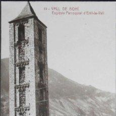 Postales: (1334)POSTAL SIN CIRCULAR,ESGLESIA PARROQUIAL D'ERILL-JA-VALL,VALL DE BOHI,LERIDA,CATALUÑA,CONSERVAC. Lote 38857534