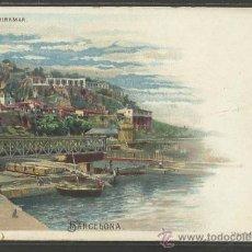 Postales: BARCELONA - MIRAMAR - LITOGRAFIA EMILIO MAASS - REVERSO SIN DIVIDIR -(17436). Lote 38991620
