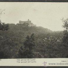 Postales: REQUESENS - VISTA GENERAL DEL CASTILLO - ED·FRIGOLA - (17442). Lote 38991843