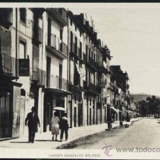 Postales: SURIA (BARCELONA).- CARRER GONZALEZ SOLESIO. Lote 39055047
