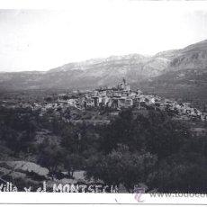Postales: PS0142 AGER 'VILLA Y EL MONTSECH'. POSTAL FOTOGRÁFICA SIN REFERENCIAS. CIRCULADA EN 1956. Lote 39071600