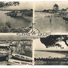 Cartes Postales: TARRAGONA SALOU DIVERSOS ASPECTOS DE LA CIUDAD. FOTO R. SEGU. CIRCULADA. Lote 179951768