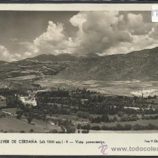 Postales: BELLVER DE CERDAÑA - 9 - VISTA PANORAMICA -FOTO CLAVEROL - (17539). Lote 39155983