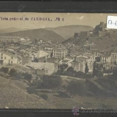 Postales: CARDONA - 1 - VISTA GENERAL - FOTOGRAFICA - (17602). Lote 39176136