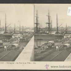 Postales: TARRAGONA - 10 - LE PORT ET LA VILLE - LL - (17580). Lote 39177608