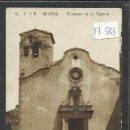 Postales: MARSA - Nº5 JB - FACHADA DE LA YGLESIA - FOTOGRAFICA - (17583). Lote 39177673
