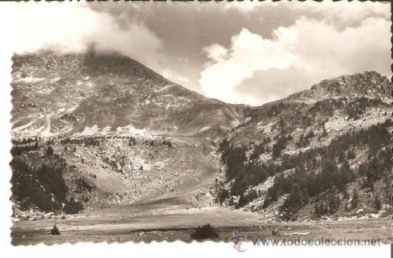 POSTAL DE ESPOT EL POTARRÓ DES DE EL LAGO LLONG Nº 21 ED. SICILIA (Postales - España - Cataluña Antigua (hasta 1939))