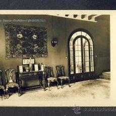 Postales: POSTAL DE CASTELLTERÇOL: VILLA OROZCO. FOTOGRÀFICA ANTIGA. Lote 39214189