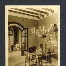 Postales: POSTAL DE CASTELLTERÇOL: VILLA OROZCO. FOTOGRÀFICA ANTIGA. Lote 39214218