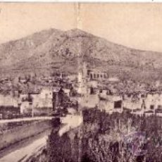 Postales: GERONA - POSTAL DOBLE PANORAMICA - VISTA GENERAL DE TORROELLA DE MONTOGRI. Lote 39299909