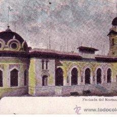 Postales: BARCELONA - FACHADA RESTAURAT TIBIDABO. Lote 39299947