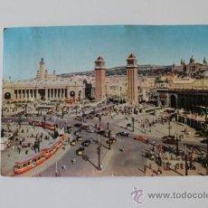 Postales: POSTAL. BARCELONA. PLAZA ESPAÑA. NIKOLAUS REUSS. . Lote 39289342