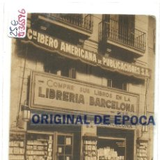 Postales: (PS-36596)POSTAL DE BARCELONA-LIBRERIA BARCELONA,PLAZA UNIVERSIDAD,Nº1. Lote 39328026