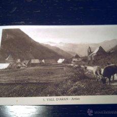 Postales: 1.- VALL D'ARAN - LLEIDA - ARTIES. Lote 39429345